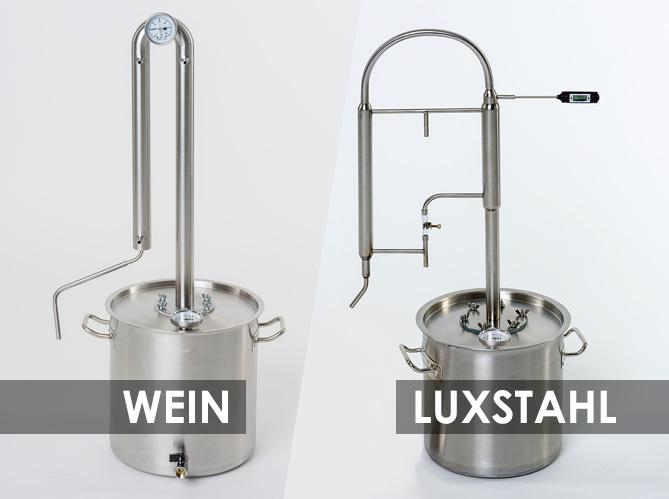 Какой самогоннный аппарат лучше — Wein или Luxstahl?